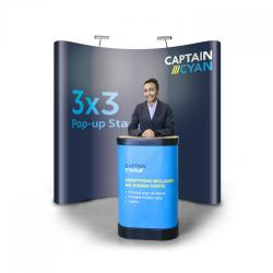 3x3 Pop-up Stand Kit