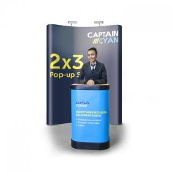 2x3 Pop-up display banner stand Kit