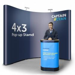 4x3 pop-up stand