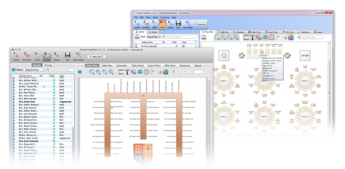 Table planner software