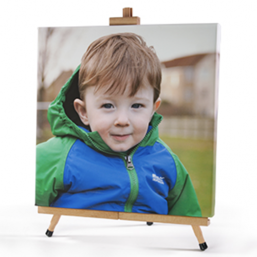Options for Printing an Image onto Canvas