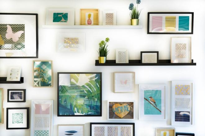 Framing Your Poster in the Right Style | Captain Cyan